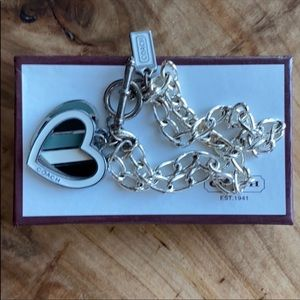 Coach Double Strand 7.25 Toggle Bracelet